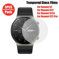 yutong 5pcs Tempered Glass For Huawei Watch GT 2 Pro 46mm protective huawei 2 e 2e 2e 42mm Screen Protector Cover Film
