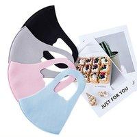face mask 3-layer cotton fashion designers masks adult breathable black washable anti-haze PM2.5 facemask for men women