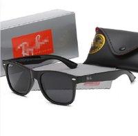 Alta qualità Ray Uomo Donna Occhiali da sole Occhiali da sole Vintage Pilot Wayfarer Brand Occhiali da sole Band UV400 Pigetti con scatola e Caso 2140 R2