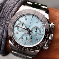 밤 세라믹 베젤 스테인레스 스틸 팔찌 자동 무브먼트 기계식 고유 한 남성 디자인 시계