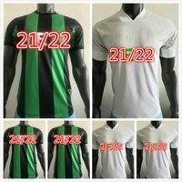 Jogador Versão 2021 2022 Cecilio Austin FC Camisas de futebol Anel Besler Casa Kit Preto Verde 21 28 Camisas de Futebol Camisetas Fútbol Maillot de pé