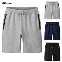 Men's Shorts Summer White Casual 2021 Fashion Elastic Waist Drawstring Streetwear Jogger Short Men Baggy Sweatshorts