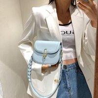 School Bags Bag Women's Versatile Ins Messenger 2021 Fashion Armpit French Niche Saddle
