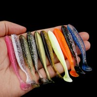 10pcs Lot Soft Lures Silicone Bait 7cm 2g Goods For Fishing Sea Baits PVA Swimbait Wobblers Artificial Spinner Tackle