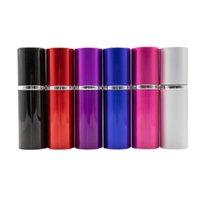 Mini 20ml Refillable Perfume Spray Bottle Aluminum Atomizer Portable Travel Empty Cosmetic Container BottleAtomizers Sprays Makeup Tools