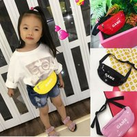 Boys Girls Money Belt Children Baby Girl Waist Packs Kid Fanny Bag Fashion Solid Color Chest Bags