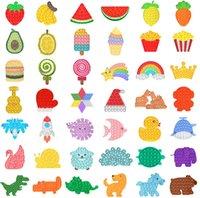 Fidget Toys Sensory Push Push Bubble Board Placa de la interacción Decompresión juego Juguete Ansiedad Estrés Reliever Kids Adultos Autismo Especial Necesidades de Necesidades Venta gratis DHL gratis