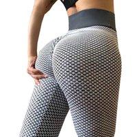 Leggings das mulheres Rooftrellen Cintura alta Fitness Mulheres Workout Push Up Activewear Calças Sem Emenda Jeggings Esportes