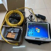 Sistema diagnostico BMW Windows10 ICOM A2 B Strumento di scansione A2 B C con laptop CF19 Touch Screen ToubleBook 4G HDD 1 TB Software ISTA Set completo pronto per l'uso