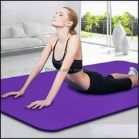 Yoga Fitness Supplies Sports & Outdoorsyoga Mats Exercise Pilates Gym Picnic Cam Straps Thick Mat 6Mm Non Slip Drop Delivery 2021 Dxxcm