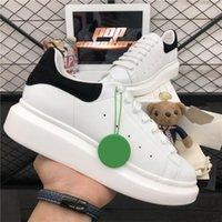 Top Calidad Hombres Mujeres Diseñadores Zapatos casuales 3M Zapatillas de deporte reflectantes Moda Cuero genuino Veleta Plataforma al aire libre Zapatilla de deporte con caja