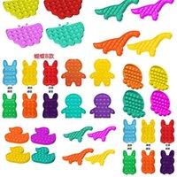 Poppers de burbujas de silicona Fidget Toys Pop Stress Reliever Poo-sus hijos Matemáticas Matemáticas Mental Aritmética Desktop Dedo Juguetes Juguetes Autismo Necesidades especiales H41W946