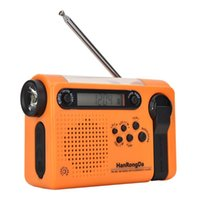 Radio Portable Solar Full Band For Outdoor Camping Hiking FM AM Emergency LED Power Bank Multifunctional Radiogram
