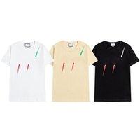 2021 패션 브랜드 디자이너 티셔츠 힙합 화이트 망 의류 캐주얼 티셔츠 문자가있는 남성용 Tshirt Size S-3XL