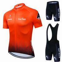 2021 JERSEYS PRO CYCLING SET ST STRAVA VTT Vélo Vélo Vêtements Vélo VTT Vêtements Vélos Vêtements Maillots Cyclisme Vélo Costume