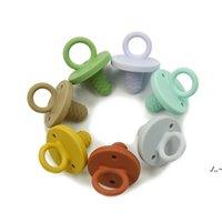 Silikon Bebek Diş Çıkarma Emzik Gıda Sınıfı BPA Bedava Yumuşak Silikon Bebek Bebek Bebek Için Güvenli Bebek Uyku Hemşirelik Aksesuarları Ahf6505