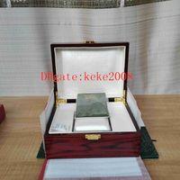 Utmärkt armbandsur Original Box Papers Wood Festival Presentkartonger Handväska Använd 15400 15710 15703 26703 26470 Schweiziska 3120 3126 Klockor