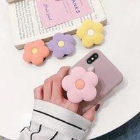 Teléfono celular soportes para 11 soportes de flores Soporte de estiramiento Soporte de dedo lindo Strap Strap Strap Mobile Expanding Universal Cellphone RI