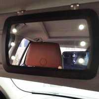 Lighted Sun Visor Vanity Mirror Car Auto Light Cover S8M8 Other Interior Accessories