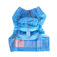 Dog Apparel Cool Diapers Female Dogs Physiological Sanitary Pants Super Soft Absorbent Powerful Pet Jeans