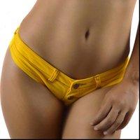 Micro Mini Jeans Use Thongs Sexy Denim Ladies Corta Bikini Bikini Bikini Summer Beach Spandex Nightclub Mujeres Shorts