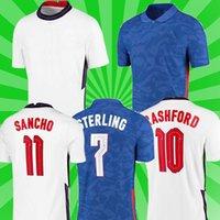 20 22 National Soccer Jersey 2021 Kane Foden Sterling Mount Rashford Sancho Henderson Barkley Maguire Lingard كرة القدم قمصان الرجال + أطفال موحدة