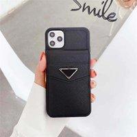 Coque iPhone en plastique dur de luxe pour téléphone 12 / 11Praxax xr xsmax x 7 8 plus 12 Pro Max 12mini Pure Color Color Design-Pra Semi Couverture Funda