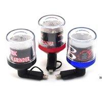 USB Elektrikli Öğütücü Cep Telefonu USB Herb Chopper Tütün Dilimleyici Ile Ekran Kutusu Sigara Aksesuarları Kuru Herb Crusher DHF6107