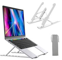 portable alloy laptop stand Tablet PC Almost good for Computers Stands Ergonomic design Sturdiness and protection Keep your laptops cool Anti-skid Angle adjustable