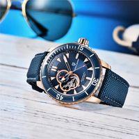 Orologio da polso PAGANI-DESIGN Orologio da uomo NH35A Casual Fashion Top Brand PD-1674 Calendario impermeabile in acciaio inox orologi meccanici