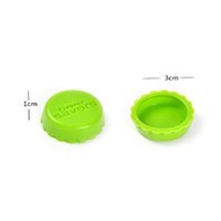 Silicone Beer Caps Drinkware Lid Reusable Wine Bottle Lids Cap Cover Saver for Kitchen Barware 6pcs set GWE6825