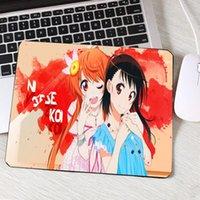 마우스 패드 손목은 귀여운 애니메이션 소녀 애니메이션 제품 PC 컴퓨터 마우스 패드 Nisekoi Onodera Kosaki 및 키리 사키 Chitoge 크리 에이 티브 DIY PA