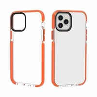 Custodie per cellulari a due toni in tessuto tinta unica per iPhone 13 12 11 Pro Max XS XR 7 8 Plus Clear Soft TPU Dual Color Cover Hybrid Hybrid