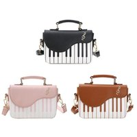 Evening Bags Bag Women Handbag Piano Pattern PU Leather Shoulder Girls Small Crossbody Phone Pouch Tote