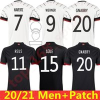 Germania Soccer Jersey 2021 Hummels Kroos Gnabry Werner Draxler Reus Muller Gotze European Cup Camicia da calcio Uniformi Uomo
