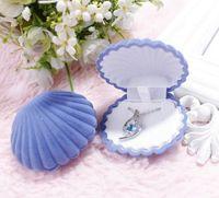 5 цветных бархатных оболочков формы ювелирные изделия коробки для кулон ожерелья женщин роскошные свадебные обручальные подарочные чехол упаковочный дисплей