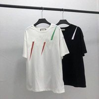 20ss الرجال t-shirt مصمم إلكتروني طباعة طاقم الرقبة عارضة الصيف تنفس رجل إمرأة تي شيرت بلون قمم المحملات بالجملة Q3M9 #