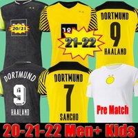 dortmund Borussia HAALAND REUS 20 21 camisa de futebol 2020 2021 camisa de futebol BELLINGHAM SANCHO HUMMELS BRANDT homens + crianças kit uniformes quarto 4º