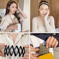Мода Складная повязка на повязку Провести телескопические вечно изменяющиеся замороженные зубные полосы для женщин Барьерки Аксессуары EWF7840