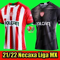 2021 NECAXA Futbol Forması Liga MX 20/21 Liga Meksika Kulübü Necaxa Ev Uzakta Tayland Kalite Kiti Formalar Futbol Üniforması Gömlek