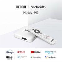 Mecool KM2 4K Android 10 TV Box Amlogic S905X2 2GB 8GB USB3.0 2T2R Dual Wifi HDR Prime Video