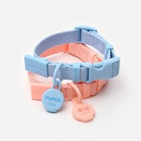Factory Collar traction chest and back in herent Korean designer small cat walking dog out makaron