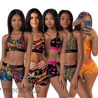 Etika Designer Designer Costumi da bagno Sport Bra + Shorts Trunks 2 pezzi Brand Tracksuit Quick Dry Beachwear Beachwear Bikini Set 2021