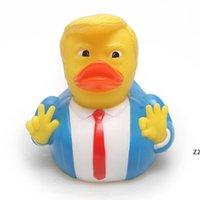 Bébé baignade jouets douche amusant canard canard enfants baignoire canard jaune enfants baigné flottant jaune canard décorations de canard de fête hwe8827