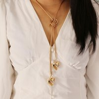 Pendant Necklaces Fashion Trend Jewelry Simple Love Chain Link Necklace Ladies Gift