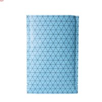 Many Sizes Blue  Silver  Blue Heat Sealable Package Flat Black Pattern Prism Aluminum Foil Mylar Open Top Bags With Tear Notchhigh qty