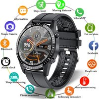 Smart Watch Phone Full Touch Screen Sport Fitness Watch IP68 Waterproof Bluetooth Connection For Android ios smartwatch Men