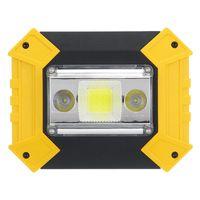 المحمولة البوليفيين أدى ضوء العمل ضوء USB قابلة للشحن 18650 بطارية في الهواء الطلق للصيد التخييم الفوانيس الطوارئ