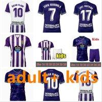 21 22 Real Valladolid Futebol Jerseys Fede S. Sergi Guardiola Oscar Plano Camisetas de Futbol 2021 2022 Adulto Kits Kit Camisas de futebol
