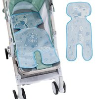 Stroller Parts & Accessories Summer Baby Cart Bed Dinner Chair Seat Cushion Kids Mattress Universal Type Ice Silk Trolley Seats Cushions